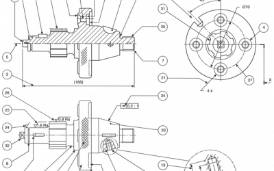 The requirements of machine drawings (Manufacturing Drawings)