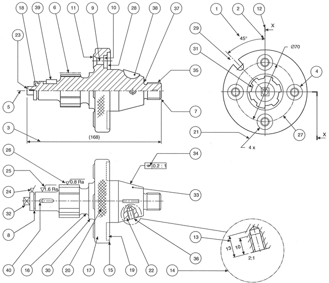 The Requirements Of Machine Drawings Manufacturing