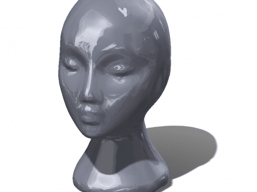 Case Study – Laser Scan – Manikin Head