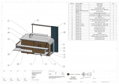 Concept Drawing to Manufacturing Drawing
