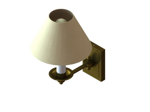 Wall Lamp Render