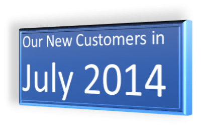 New Customers July 2014