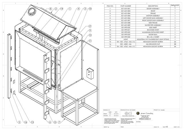 cad services clarifies exploded assembly drawings