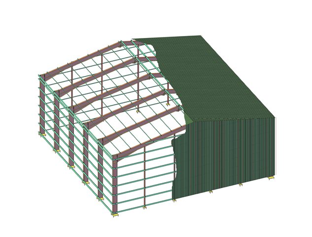 Case Study Portal Frame Drawings Structural Steel