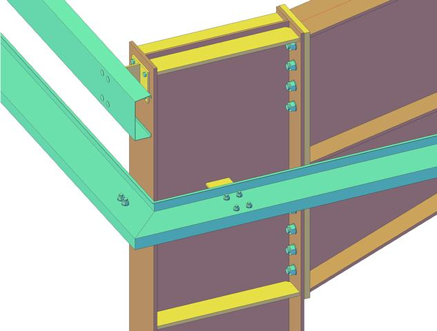 Structural Steel Connections Dwg : Case study portal frame drawings structural steel