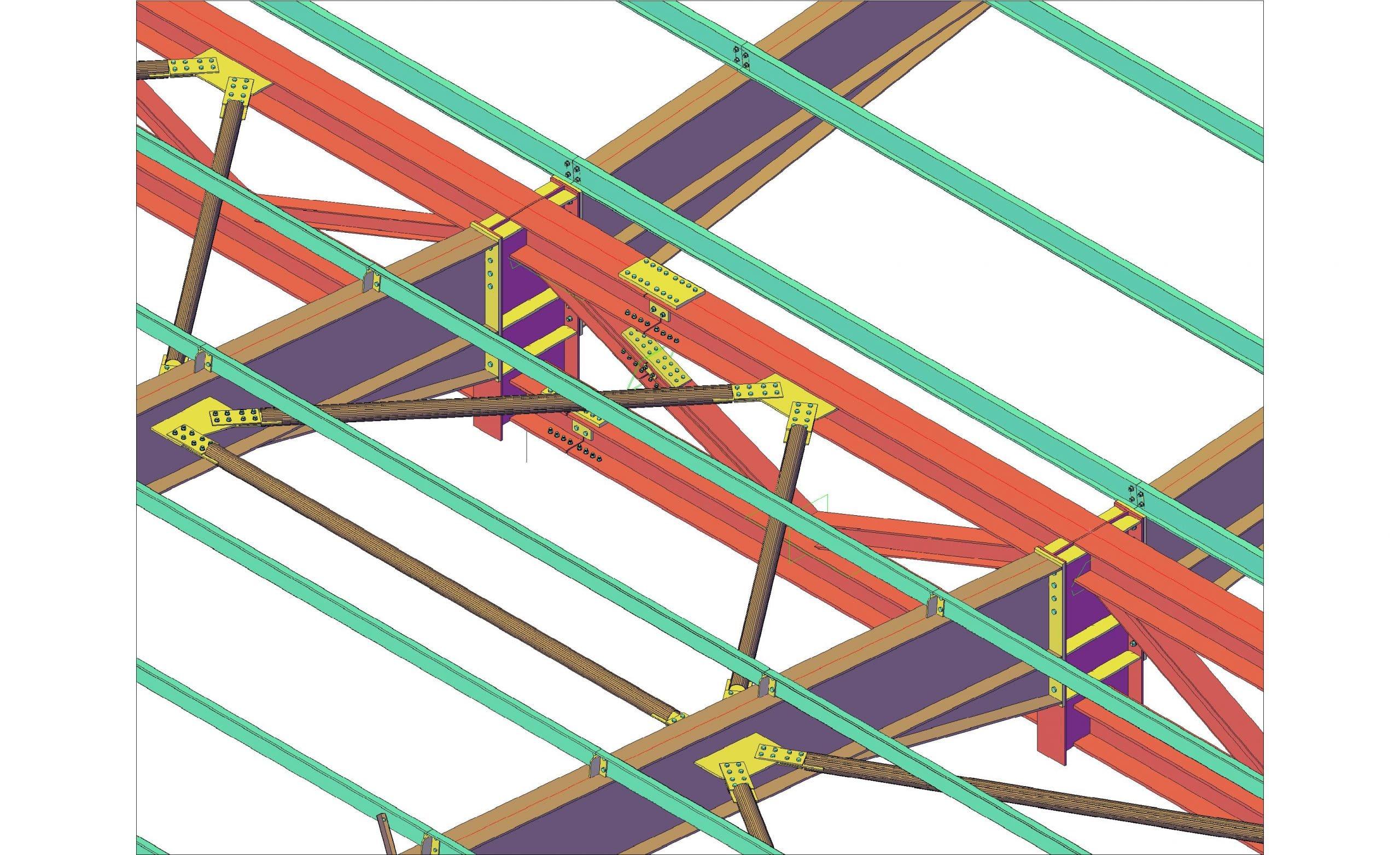 Portal Frame Fabrication Drawings