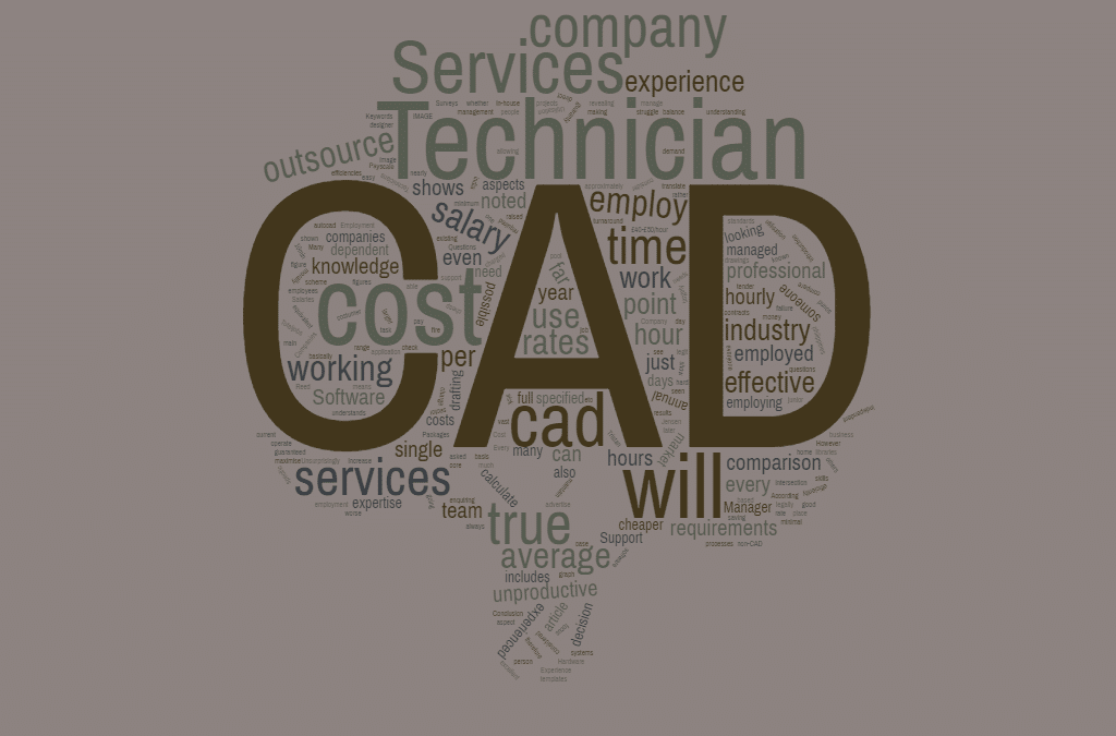 The revealing true cost of in-house CAD vs CAD Outsourcing