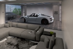 Interior Render, Design + Modelling