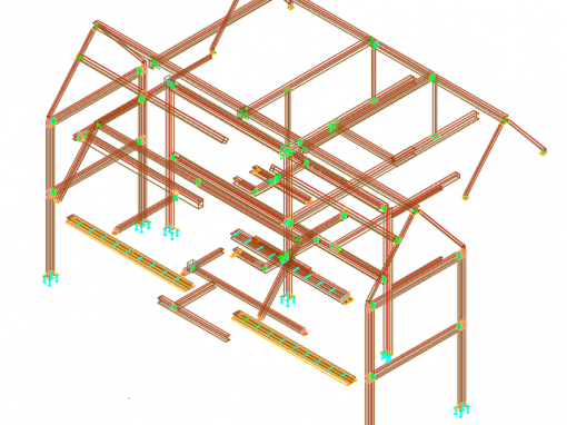 House Fabrication Drawings
