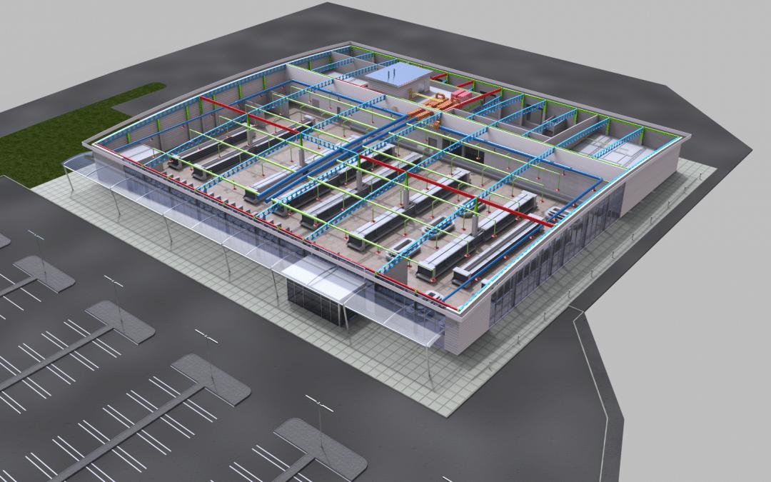 BIM CAD Services – Building Information Modelling Company