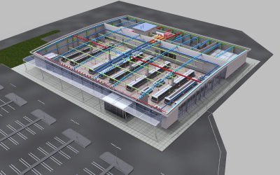 BIM CAD Services – Building Information Modelling Company