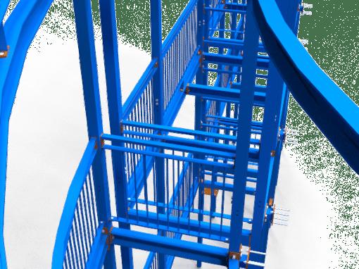 Letchworth – Balcony Stacks – Steel Detailing