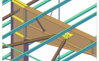 The advantages of software for structural steel detailing