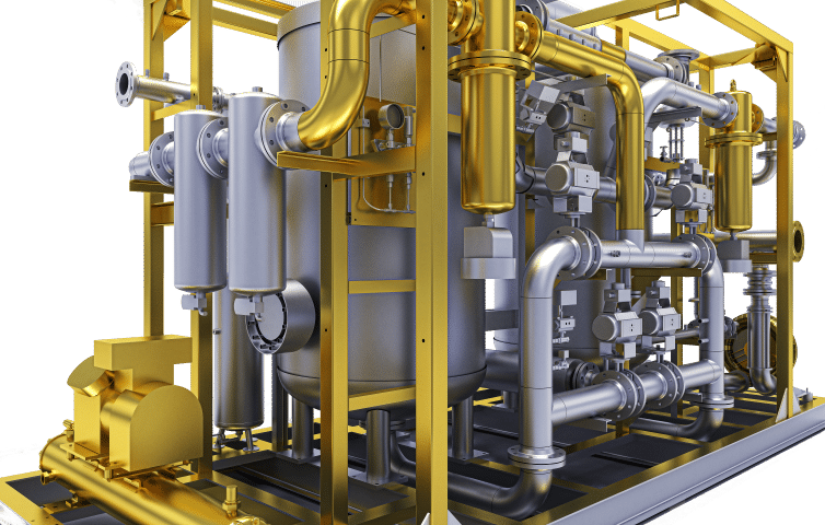 Process & Plant Drawings | Water Treatment | Pipe & Skid CAD Drawings