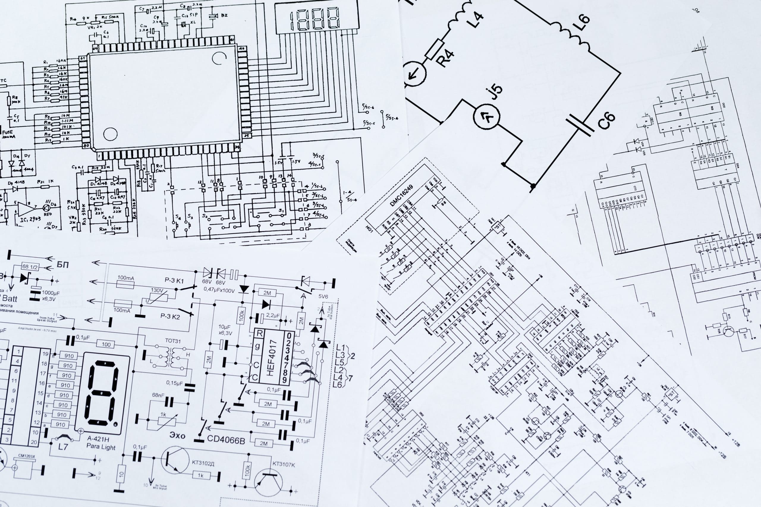 Schematic Drawings | Technical Line Drawings | 2D Drafting | CAD Service