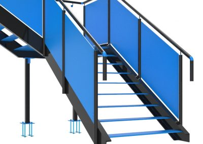 Steel Detailing-Staircase