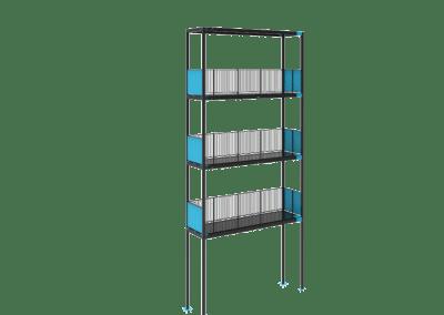 Steel detailing- Balcony stack