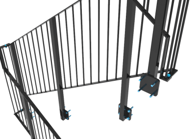 Steel detailing- Staircase