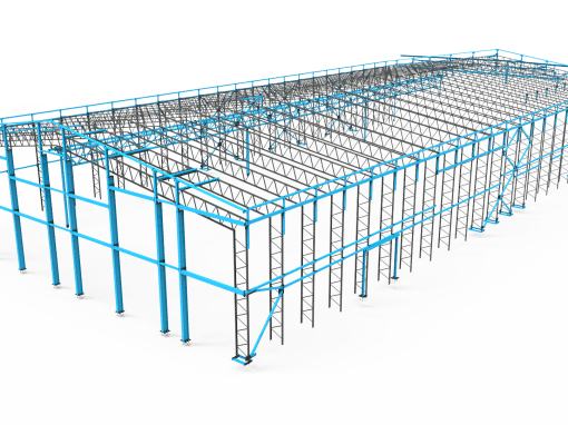 Structural Steel At Silverstone