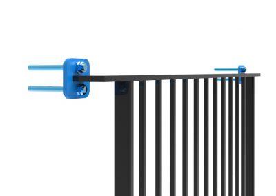 Steel Detailing-Balcony