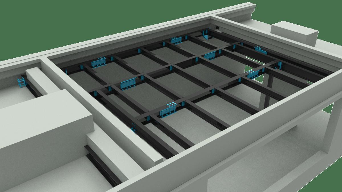 Mezzanine Floor Drafting | Fabrication Drawings | Steel Detailing